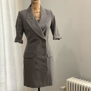 🛍Venus grey double breasted suit dress size 2